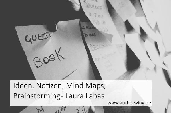Ideen, Notizen, Mind Maps, Brainstorming – Laura Labas