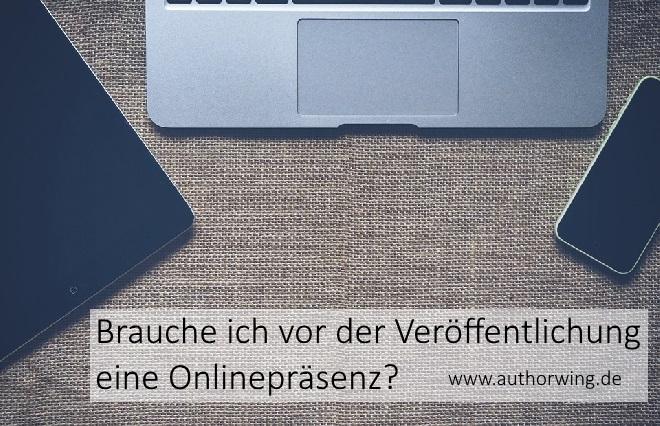 Brauche ich vor der Veröffentlichung eine Onlinepräsenz?
