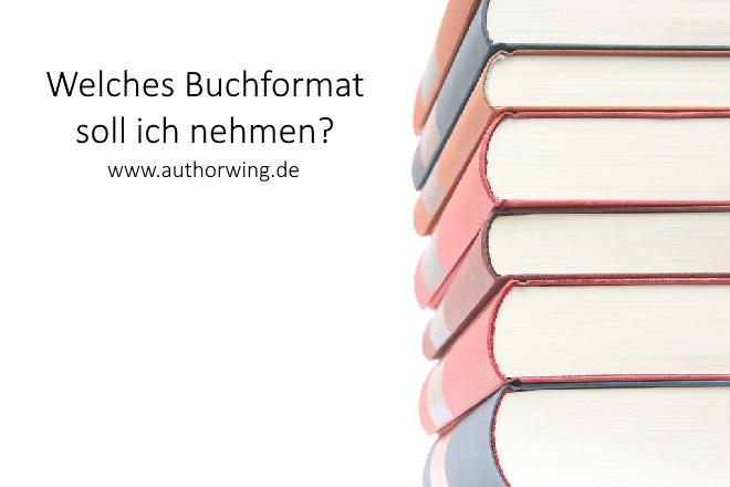 Welches Buchformat soll ich nehmen?