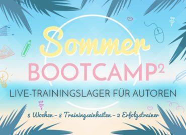 Sommer-Bootcamp² für Autoren