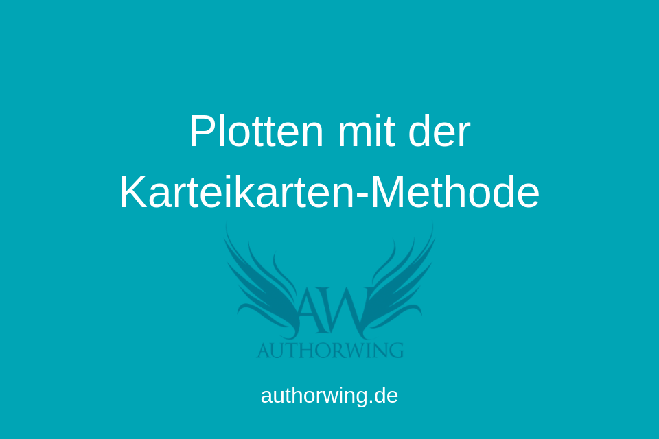 Plotten mit der Karteikarten-Methode
